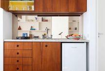 Кухня - идеи интерьера / Дизайн кухни: фото интерьера кухни, идеи ремонта кухни, примеры совмещение и зонирования кухни