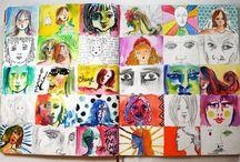 Art Journal/Sketchbook Lessons