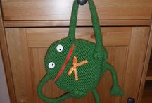 Do It Myself / DIY, handmade, home, kid, frog, crochet, curtain, christmas tree, advent, calendar, backpack, designe, bag,
