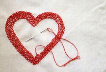 Brodera Hjärtan / Embroidery Hearts