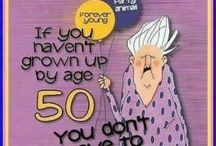 Fabulous and 50 / 50th birthday