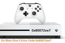 18004336015 Fix Xbox One S Error Code 0x80072ee7