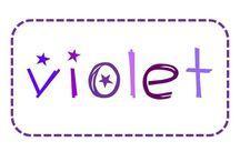 C'est violet / Violet - purple