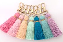 Tassels and pompoms