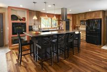 Project submitted by Transformations in Kitchens, Germantown, WI / Recent project from Jackson, WI.  Great Northern Cabinetry products. Deluxe Series Cabinets