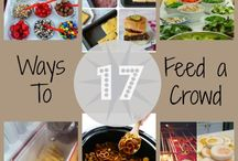 Cooking for a Crowd / Meal Ideas, Recipes, and Hints for Feeding Large Groups / by Beth Lewis