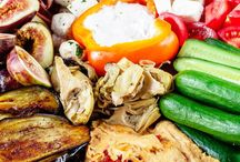 Mediteranean Bites / Mezze, Tapas, Happas, Antipasti, Pinxtos  / by Wendy Wierenga