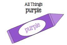 All Things Purple / All Things Purple / by Boy Mama Teacher Mama