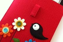 felted tablet cover