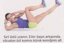 Karın egzersiz