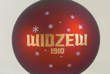 bombka Widzew Łódź / Bombka klubu sportowego z Łodzi