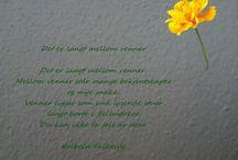 Fine dikt  - norske diktere / Dikt til alle anledninger. Betyr mye for meg.