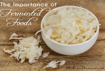 Fermented Food Recipes / Heal and protect your gut with healthy fermented foods that are packed with beneficial bacteria (probiotics) and prebiotics! It's not hard...Let me show you how!