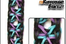 SunshineLoom Creations / Rubberband Creations made with FriendlyBands SunshineLoom
