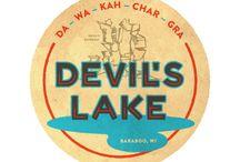 Retro Devils Lake