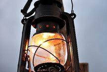 lanterns, old, antique and vintage