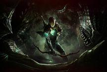 Scalebound / Bound aloft by scales...Dragons.