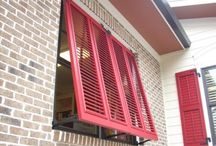 Exterior Shutters / by Southern Traditions