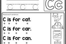 alfabet bord kiddies