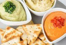 humus y pastas