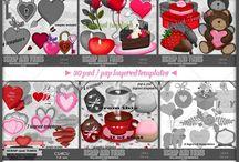 CU Digitals: Love - Romance - Valentine - Digi Scrap Resource / Love, Valentine, Wedding, Romance, Heart, CU Easter digital designs for Commercial Use #digitalscrapbooking #photoshop, #digiscrap. Get CU graphic holiday scrapbooking and craft supplies at CUDigitals.com