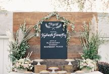 Wedding - Floral/Design / Melissa Mielke (Mitchell) 5/20/17 --- linen/floral ideas for pre-wedding meeting on Friday 10/21