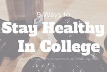 Staying Healthy in College