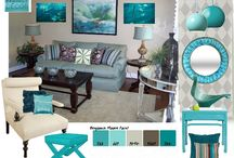 Interior design concepts / Concept boards for interior design projects