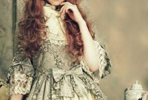 Lolita Fashion / I'm a lolita fashion follower, i love it. It's a japanese fashion inspired by rococo and victorian eras mixed with our actual pop culture. Very expresive <3