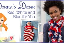 Seasonal: Red, White and Blue