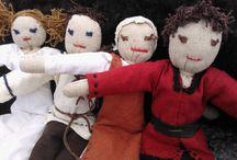 craftwerck - dolls / hand made medieval dolls
