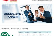 Delegate Visit at Riya Education  - European University, Germany / Delegate visit from European University, Germany at Riya Education Chennai, Cochin and Mumbai branches. Those who wish to study abroad in Germany, come meet the delegate and know more about your opportunity and chances of acceptance. For more details contact with Riya Education, overseas education consultants.  #Abroad education in Germany