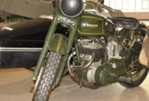 """Motorcycles / I've never been into motorcycles but I do like these """"classic"""" ones. would be cool to own one some day."""