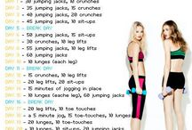 exercises-weight loss / by Rhonda Tadin