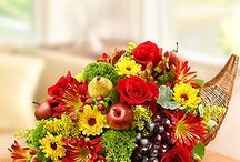 Thanksgiving / Thanksgiving flowers and treats from 1800flowers.com provide a beautiful way to give thanks! Arrange picture-perfect Thanksgiving table settings with fall flowers whether for your own home decorations or for the perfect Thanksgiving hostess gift.