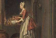 habits peuple 18ème siècle
