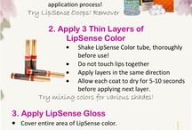 Lipsense / Up to 18 hours of lip power!! 70 different colors and different glosses to go over top!!