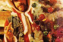 Punk Rock Santa Claus