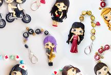 Chibi Polymer Clay Key Rings