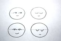 Stitched faces