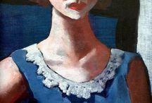 Max Beckmann portraits