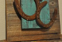 Old Horseshoes & Barbed Wire / by Lisa Sandberg