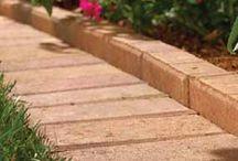 Садовые дорожки / Строительство, дизайн, идеи