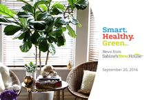 Smart. Healthy. Green. News from Sabine's New House / Smart. Healthy. Green. News from Sabine's New House takes a closer look at the latest news around home building with a focus on smart, healthy, and green innovations. The show also looks at innovations that may impact home construction in the near future. The news program is co-hosted by Sabine H. Schoenberg and Sabine's New House Editorial Director and Producer, Christopher Mohs. New episodes are released on Tuesdays via the YouTube Channel.