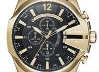 Relojes dorados hombre