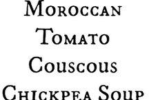 vegetarian: soups