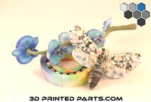 Color Jet 3D Printed Parts