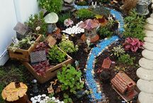 Fairy garden miniatures
