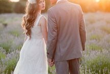 Sunset Bridal Portraits / by Nicole Conner
