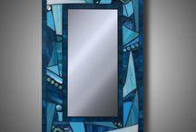 espejo vidriera
